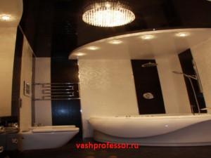 потолок в ванной 5