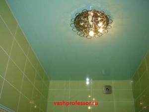 потолок в ванной 6